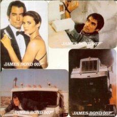 Colecionismo Calendários: 4 CALENDARIOS DE PORTUGAL - 1990 - JAMES BOND 007. Lote 235085035