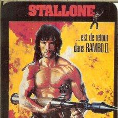 Coleccionismo Calendarios: CALENDARIO DE PORTUGAL - 1990 - CINE - RAMBO II - STALLONE. Lote 235187395