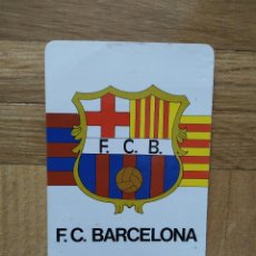 Coleccionismo Calendarios: CALENDARIO DEL FUTBOL CLUB BARCELONA. F. C BARCELONA. AÑO 1987. VER FOTOS. Lote 235842905