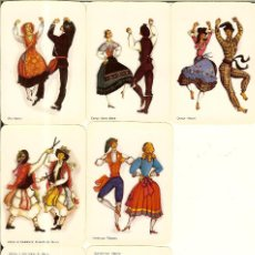 Coleccionismo Calendarios: 7 CALENDARIOS DE PORTUGAL - 1990 - TRAJES TÍPICOS. Lote 236053945