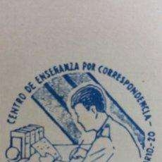 Coleccionismo Calendarios: ESCASO CALENDARIO AÑO 1966 ACADEMIA DE LAS LUCES MADRID. Lote 236061600