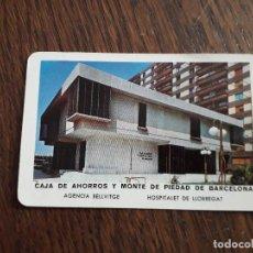 Coleccionismo Calendarios: CALENDARIO FOURNIER CAJA DE AHORROS Y MONTE DE PIEDAD DE BARCELONA, AÑO 1971. Lote 236363420