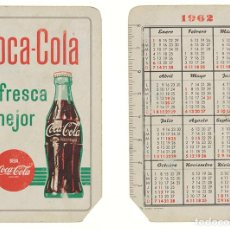 Coleccionismo Calendarios: CALENDARIO FOURNIER COCA-COLA 1962. Lote 236492480