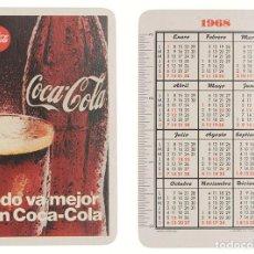 Coleccionismo Calendarios: CALENDARIO FOURNIER COCA-COLA 1968. Lote 236492995