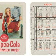 Coleccionismo Calendarios: CALENDARIO FOURNIER COCA-COLA 1966. Lote 236493555