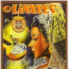 Coleccionismo Calendarios: -68179 CALENDARIO CARTEL DE FERIA Y FIESTAS DE LINARES 1997, AÑO 2012, EMISION PARTICULAR. Lote 236656420