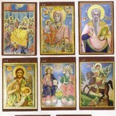 Coleccionismo Calendarios: -68504 8 CALENDARIOS PINTURAS RELIGIOSAS MEDIEVALES, AÑO 2011, EXTRANJEROS. Lote 236657190