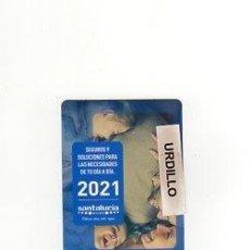 Coleccionismo Calendarios: CALENDARIO BOLSILLO - SANTA LUCÍA SEGUROS - AÑO 2021. Lote 236768100