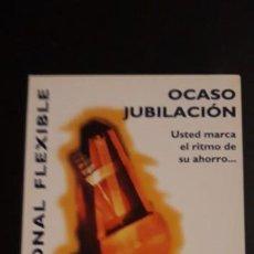 Coleccionismo Calendarios: 1 CALENDARIO DE ** OCASO JUBILACIÓN ** AÑO 1999. Lote 236770120