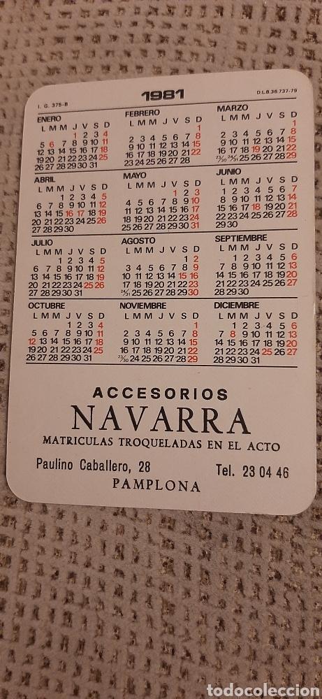 Coleccionismo Calendarios: Don Quijote y Sancho Panza 1981. Con publicidad - Foto 2 - 237003855