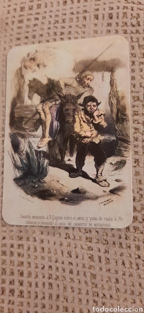 DON QUIJOTE Y SANCHO PANZA 1981. CON PUBLICIDAD (Coleccionismo - Calendarios)