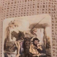 Coleccionismo Calendarios: DON QUIJOTE Y SANCHO PANZA 1981. CON PUBLICIDAD. Lote 237003855