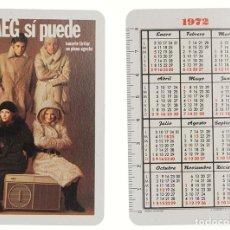Coleccionismo Calendarios: CALENDARIO FOURNIER AEG 1972. Lote 237046475