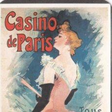 Coleccionismo Calendarios: CALENDARIO CASINO DE PARIS AÑO 1.986. Lote 237641495
