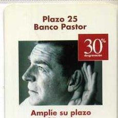 Coleccionismo Calendarios: CALENDARIO FOURNIER BANCO PASTOR 2000. Lote 238673025