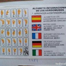 Coleccionismo Calendarios: LOTE DE 6 CALENDARIOS CAMPAÑAS DE PREVENCIÓN:1984,1989, 1997, 1998, 1999, 2001. Lote 239485210