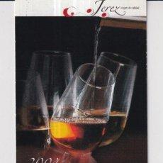 Colecionismo Calendários: CALENDARIO DE PUBLICIDAD DE TURISMO DE JEREZ DEL AÑO 2004 ESP. Lote 240814360