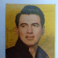 Coleccionismo Calendarios: CALENDARIO 1960. SERIE B. ROCK HUDSON. ACTOR CINE. BAR CANALETAS, RESTAURANTE, MATARO. Lote 242370440