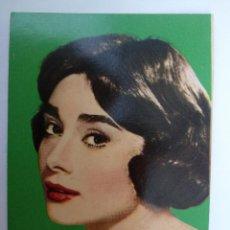 Coleccionismo Calendarios: CALENDARIO 1960. AUDREY HEPBURN. ACTRIZ CINE. PARAMOUNT. TEJIDOS Y ESTAMPADOS, JUAN. BARCELONA.. Lote 242371135