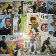 Coleccionismo Calendarios: SAN MARTIN DE PORRES. LOTE 16 CALENDARIOS DESDE 1963 A 2005. Lote 243828495