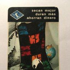 Coleccionismo Calendarios: TOALLAS SIRENA HERACLIO FOURNIER CALENDARIO ORIGINAL 1965 PERFECTO ESTADO. Lote 243995060