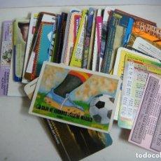 Coleccionismo Calendarios: CALENDARIOS DE BOLSILLO LOTE DE 100 CALENDARIOS DE PUBLICIDAD Nº-532. Lote 244453585