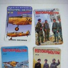 Coleccionismo Calendarios: CALENDARIOS DE BOLSILLO HISTORIA MILITAR COLECCION DE 4 CALENDARIOS Nº-539. Lote 244615995