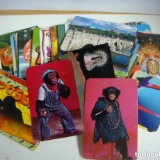 Coleccionismo Calendarios: CALENDARIOS DE BOLSILLO LOTE DE 120 CALENDARIOS DE VARIOS TEMAS Nº-531.. Lote 244616155