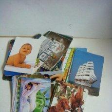 Coleccionismo Calendarios: CALENDARIOS DE BOLSILLO LOTE DE 100 CALENDARIOS VARIOS TEMAS Nº-528. Lote 244616240