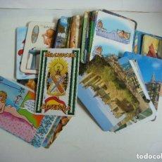 Coleccionismo Calendarios: CALENDARIOS DE BOLSILLO LOTE DE 100 CALENDARIOS DE VARIOS TEMAS--Nº-507. Lote 244616615