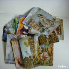 Coleccionismo Calendarios: CALENDARIOS DE BOLSILLO LOTE DE 100 CALENDARIOS DE VARIOS TEMAS--Nº-505. Lote 244616750