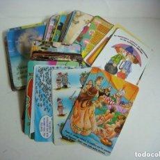 Coleccionismo Calendarios: CALENDARIOS DE BOLSILLO LOTE DE 100 CALENDARIOS DE VARIOS TEMAS--Nº-506. Lote 244616840
