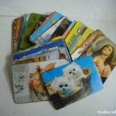 Coleccionismo Calendarios: CALENDARIOS DE BOLSILLO LOTE DE 100 CALENDARIOS DE VARIOS TEMAS--Nº-509. Lote 244616960