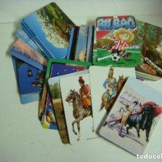 Coleccionismo Calendarios: CALENDARIOS DE BOLSILLO LOTE DE 100 CALENDARIOS DE VARIOS TEMAS--Nº-526. Lote 244617280