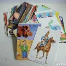 Coleccionismo Calendarios: CALENDARIOS DE BOLSILLO LOTE DE 100 CALENDARIOS DE VARIOS TEMAS --Nº-525. Lote 244617405