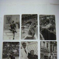 Coleccionismo Calendarios: CALENDARIO DE BOLSILLO COLECCION DE 6 CALENDARIOS DE MANOLETE. Lote 244617660