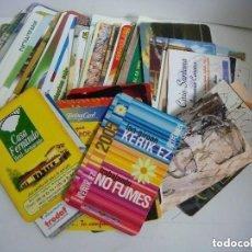 Coleccionismo Calendarios: CALENDARIOS DE BOLSILLO LOTE DE 100 CALENDARIOS DE PUBLICDAD Nº-421. Lote 244618165