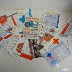 Coleccionismo Calendarios: CALENDARIOS 25 CALENDARIOS DE BOLSILLO DONANTES DE SANGRE Nº-299. Lote 244618465