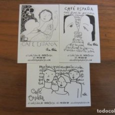 Coleccionismo Calendarios: CALENDARIOS NO FOURNIER-CAFE ESPAÑA-DEL 2013 VER FOTOS. Lote 244796850