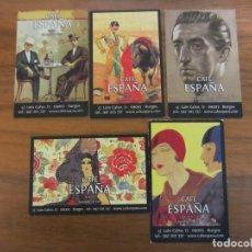 Coleccionismo Calendarios: CALENDARIOS NO FOURNIER-CAFE ESPAÑA-DEL 2012 VER FOTOS. Lote 244797245
