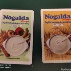 Coleccionismo Calendarios: LOTE 2 CALENDARIOS 1986 NOGALDA. Lote 244909665
