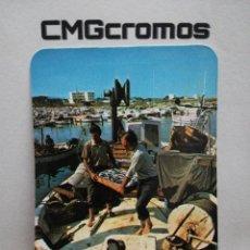 Coleccionismo Calendarios: CALENDARIO PESCADORES 1980 PUBLICIDAD COMERCIO MÁLAGA. Lote 244909730