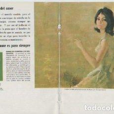 Coleccionismo Calendarios: ANUNCIO PUBLICIDAD DIAMANTES-AERONAVES BOEING JETS-ELECTRODOMESTICOS WESTINGHOUSE. Lote 244909780
