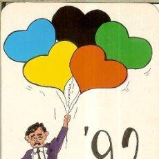 Coleccionismo Calendarios: CALENDARIO DE SERIE - 1991 - ED 566. Lote 245018785
