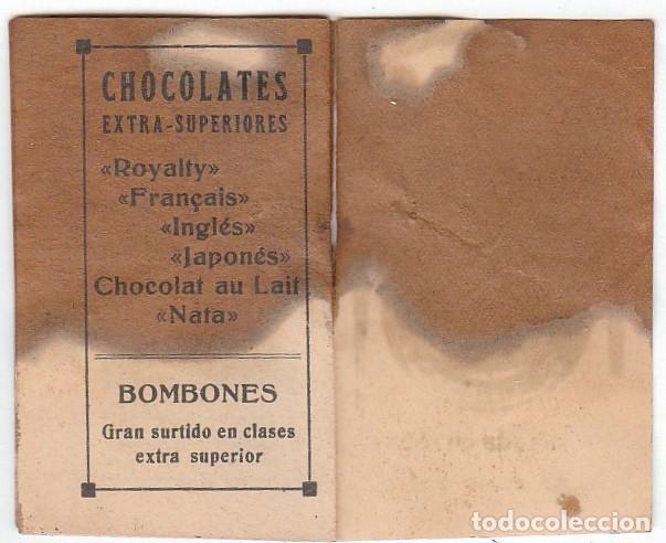 Coleccionismo Calendarios: Antiguo calendario santoral almanaque Cacao chocolates Juncosa, Barcelona 1932 aa - Foto 4 - 245381105