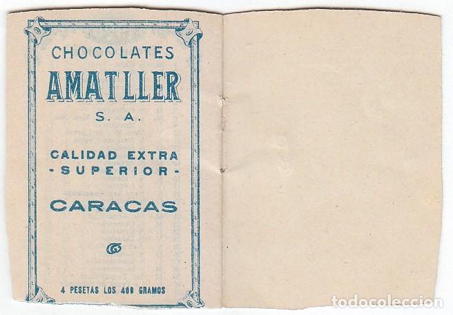 Coleccionismo Calendarios: Precioso calendario santoral almanaque Cacao chocolates Amatller, Barcelona 1926 aa - Foto 4 - 245382465