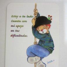 Coleccionismo Calendarios: CALENDARIO LIBRERÍA SAN PABLO PAYASO 2003. Lote 271689803