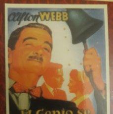 Coleccionismo Calendarios: -77978 CALENDARIO PELICULA EL GENIO SE DIVIERTE, AÑO 2007, CINE. Lote 246366345