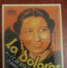 Coleccionismo Calendarios: -77982 CALENDARIO PELICULA LA DOLORES, AÑO 2007, CINE, CONCHITA PIQUER. Lote 246366495