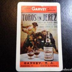 Coleccionismo Calendarios: CALENDARIO FOURNIER AÑO 1965 GARVEY S.A TOROS EN JEREZ. Lote 246424730